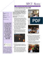 Winter Spring 2010 Newsletter