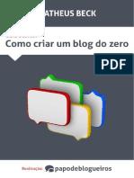 eBook - Como Criar Um Blog Desde Zero