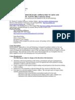 UT Dallas Syllabus for atec5349.501 06s taught by Thomas Linehan (tel018000)