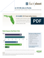 2013 Staffing Industry Fact Sheet Florida