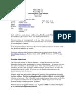 UT Dallas Syllabus for aim6354.521 06u taught by Ronald Blair (rblair)
