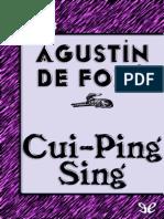 Cui-Pin-Sing - Agustin de Foxa - 11795