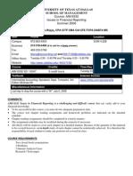 UT Dallas Syllabus for aim6332.521 06u taught by Liliana Hickman-riggs (llh017100)