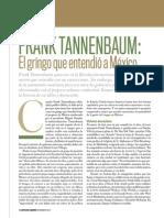 Frank Tannebaum, El Gringo Que EntendioaMexico_por Enrique Krauze