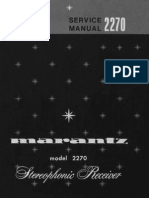 Marantz 2270 Service Manual