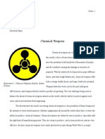 research paper chemical weapons final draft