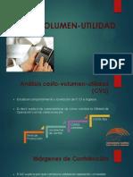 Análisis Costo Volumen Utilidad CVU