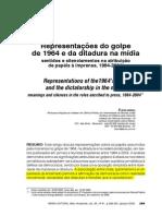 Representação do Golpe de 1964 e da ditadura na mídia