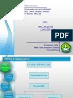 analisis swot PT Mustika Ratu Tbk
