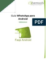 Guía WhatsApp para Android