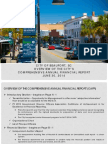 City of Beaufort comprehensive annual financial report overview