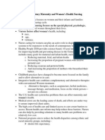 Ob Study Guide #1
