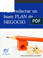 Redactar Plan Negocios