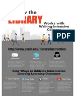 Writing Intensive Courses and the Library