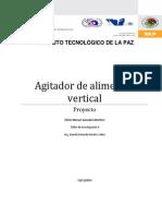 Proyecto Agitador Vertical