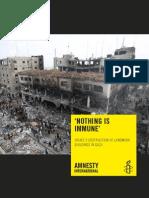 Správa Amnesty International o Izraeli