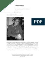 Palti, Elías, Entrevista