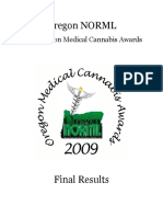 OMCA 2009 Final Results