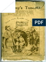 WWI British Army Songbook (1917)