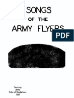 Army Air Corps Songbook (1937)