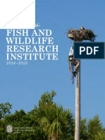 Programs of the Fish and Wildlife Research Institute 2014-2015