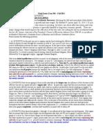 Final Exam 304 Fall 2014 Post