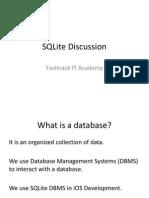 SQLite Discussion