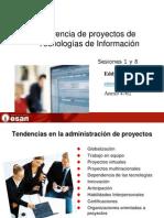 Gerencia de Proyectos de TI Ses1-8x