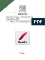 Práctica y configuración de un servidor web Adrián López Creative Commons  Apache