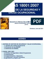 Sistema de Gestion de Sso Norma Ohsas 18001 2007