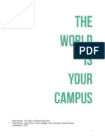 Office of Global Education Event Plan
