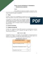 Analisis de Riesgos y Plan de Contingencias