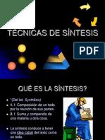 3 Tecnicas de Sintesis