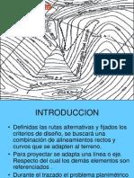 Trazado de Vias, Para Estudios Independientes