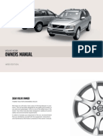 XC90 Owners Manual MY10 en Tp10922