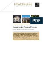 Curing Motor Neuron Diseases