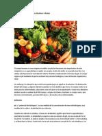 Niveles de PH Los Alimentos Alcalinos Y Ácidos