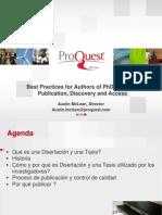Como Publicar Tesis Doctoral o Disertacion Dr Austin Mclean