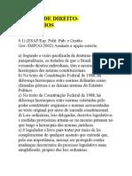 EXERCÍCIOS SOBRE NOÇÕES DE DIREITO
