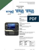 Nokia 6790surge 6790slide 6760slide RM-492 573 599 Service Manual L1L2v1 0