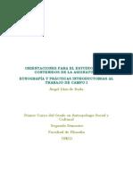 Orientaciones. Etnografía y Prácticas Introductorias Al Trabajo de Campo I.pdf