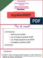système HACCP ppt