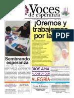 Voces de Esperanza 07 de Diciembre de 2014