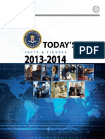 "FBI.gov ""Today's FBI Facts and Figures"" 2013-2014"