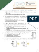 Exercicios Geradores e Receptores Electricos