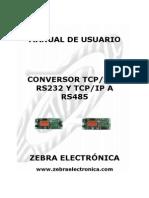Manual Conversor Tcp