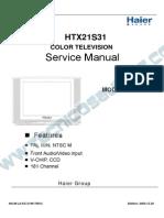 15693 Haier HTX21S31 Manual de Servicio