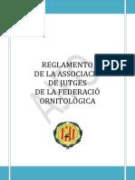 REGLAMENTO+DE+LA+ASSOCIACIÓ+DE+JUTGES+DE+LA+FEDERACIÓ+ORNITOLÒGICA