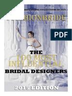 Top 100 Most Influential Bridal Designers