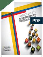 Agenda Para La Transformacion Productiva
